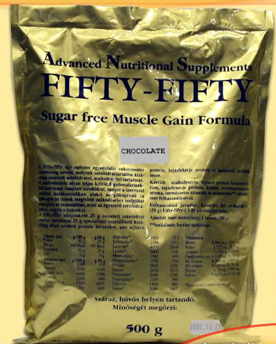 ANS Nutrition Fifty-Fifty