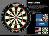 one 80 Top Score dart tábla