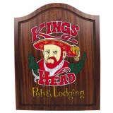 Innergames Kings Head Dart kabinet