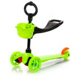 Meteor Three Wheel 2in1 roller - green